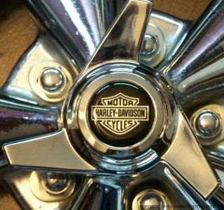 Harley Davidson HD Hog Wheels Rims Emblems Car Ford F150 Truck Trike
