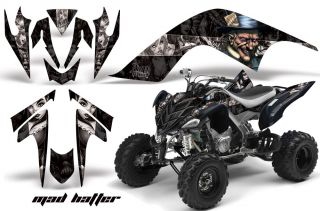 AMR RACING GRAPHIC ATV WRAP OFF ROAD DECAL STICKER KIT YAMAHA RAPTOR