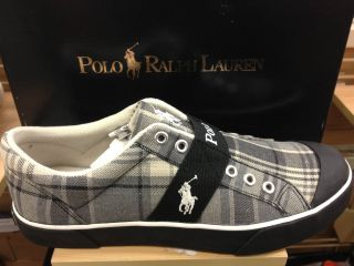 Polo Ralph Lauren Gardner Mens Canvas Fashion Sneaker Casual Shoe