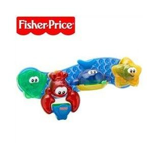 Fisher Price Brilliant Basics Stay and Play Bath Toys