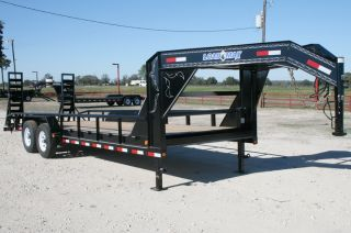 Gooseneck Carhauler Equipment Trailer with 7 000 Dexter Axles