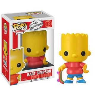 The Simpsons BART Funko POP VINYL Figure DOLL