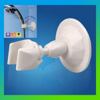 Bathroom Wall Mount Attachable Shower Head Holder Suction Adjustable