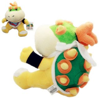 Nintendo Super Mario Bros baby Bowser Jr. OR Koopa Jr. Plush soft Doll