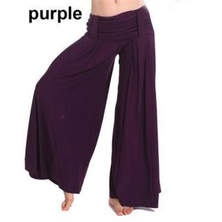 belly dance tribal costume harem pants wide legs trousers 5 colors