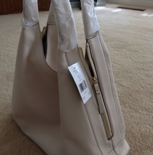 395 Kate Spade Mansfield Juniper Handbag Purse Cream