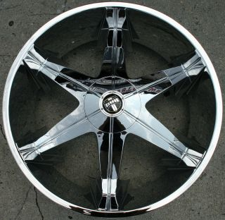 Dub Big Homie 3 26 Chrome Rims Wheels Chevrolet Trailblazer 26 x 9 5