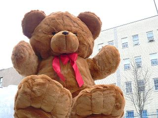 Lifesize Teddy Bear 48 Giant Plush Stuffed Jumbo Brown