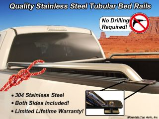 Chevy Silverado Sierra Long Bed 96 8ft Bed Bedrails Rails Tie Down