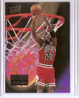 93 94 Ultra Michael Jordan Inside Outside Insert Card