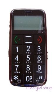 Big Buttons Large Numbers Dual Sim Elderly Senior Mobile Cell Phone