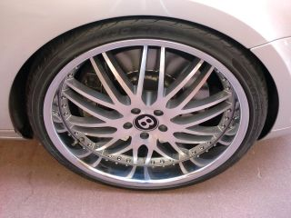 22 Wheels Rims Bentley Continental GT Flying Spur