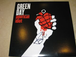 Billie Joe Armstrong Signed Green Day American Idiot 2 LP Album New