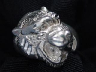 WOW New Sterling Silver Cat Tiger Ring Lion Jewelry Animal