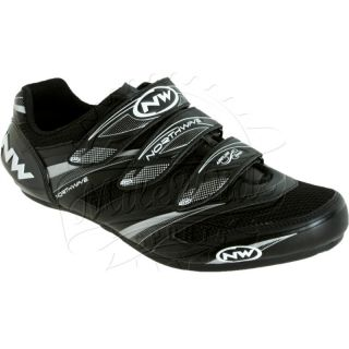 Northwave Vertigo Pro Road Cycling Shoe 3 Velcro Straps Carbon