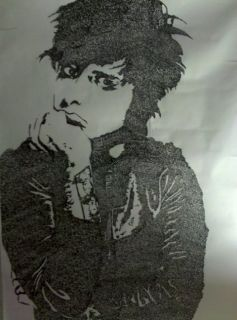 Green Day Billie Joe Armstrong Lyric Portrait