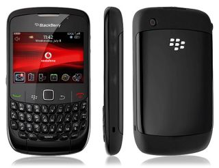 New Blackberry Curve 8520 Unlocked GSM Phone Quad Band 2MP Camera Wi