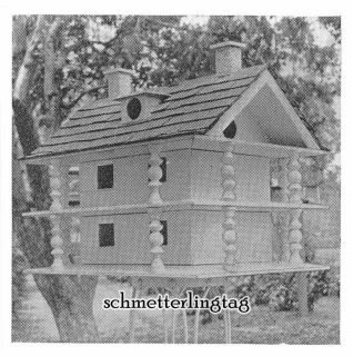 1924 Bird House Building Plans Book 38 Houses Feeders Sparrow Trap DIY