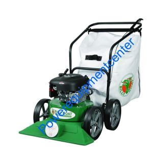 Billy Goat KV600 push lawn vacuum leaf and litter multi surface light