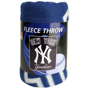 New York Yankees Baseball Ultra Soft Fleece Blanket Throw 50 x 60