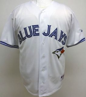 2012 New Toronto Blue Jays Blank Home Sewn Jersey High Quality Mens 6