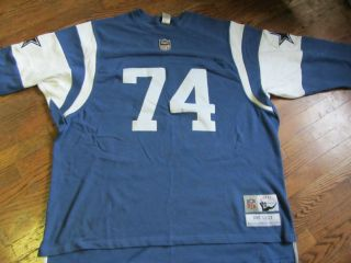 Dallas Cowboys Bob Lilly Throwback Jersey Size 4XL