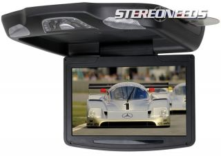 Boss 11 2 Flip Down Roof Mount Car Video Monitor Built in DVD CD