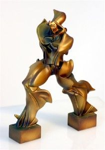 Modern Art Statue Sculpture Umberto Boccioni Bronze Finish New