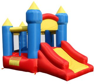 BOUNCELAND INFLATABLE LITTLE KING CASTLE SLIDE BOUNCE HOUSE 9018