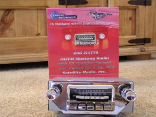 1964 64 1 2 Ford Mustang Replica Stereo Radio USA 66