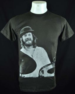 Dark John Bonham LED Zeppelin Retro Rock T Shirt Sz XL