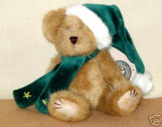 Boyds Bears C Z Comet Christmas Bear Retired 2002 HTF