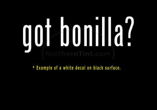 Got Bonilla Vinyl Wall Art Truck Car Decal Sticker
