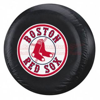 MLB Boston Red Sox Spare Tire Cover for Jeep and SUVs, New Licensed