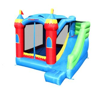 Bounceland Inflatable Bounce House Royal Palace Bouncer