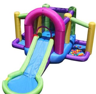 bounce n splash inflatable bounce house water slide