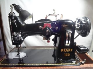 Pfaff 130 6 with 50010 Embroidery Module Sewing Machine