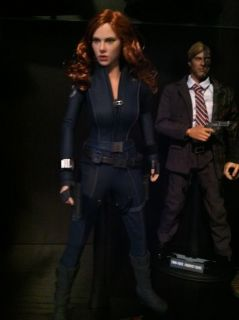 Hot Toys Black Widow Iron Man 2 12 Inch Figure Marvel Avengers