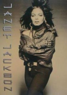 Janet Jackson 1990 Rhythm Nation Tour Concert Program