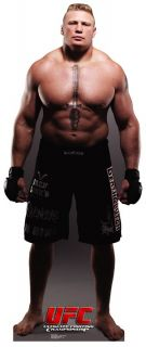 UFC Fighter Brock Lesnar Lifesize Cardboard Standup Cutout Figure