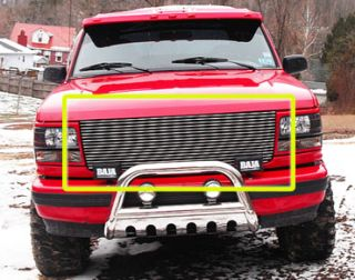 92 93 94 95 96 Ford Bronco F150 F250 Pickup Billet Grille Replacement