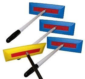 Sno Brum Snow Broom Telescoping Snow Rakes 1 Pro Edge Commercial