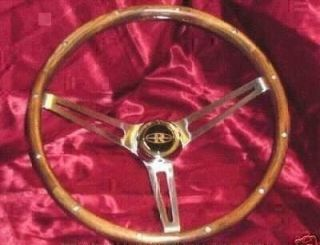 BUICK RIVIERA WOOD STEERING WHEEL WITH HORN BUTTON 1963 1993