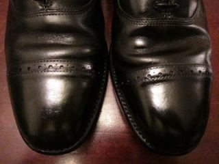 Allen Edmonds Byron Leather Cap Toe Oxford Job Interview Dress Shoes
