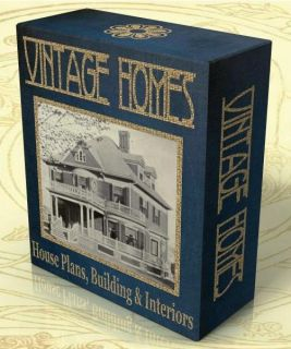 Vintage Homes House Plans Building Interior Design 75 Vintage Books on