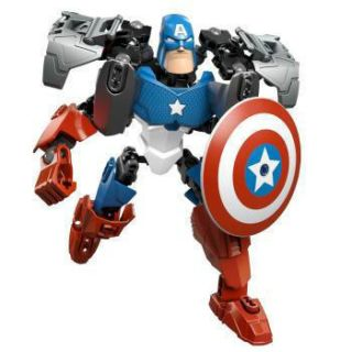 Captain America Building Toy 10 SUPER HEROES Avengers Figures Alliance