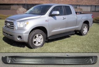 Tundra Double Cab Running Boards 68003 Steps Matte Black Trim 2007