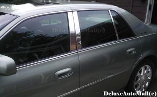 Cadillac DeVille DTS Chrome Stainless Pillar Posts 6pcs