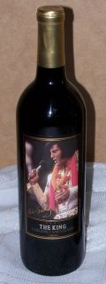 2003 Elvis Presley The King Cabernet Wine 1st Edition