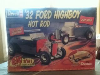 Revell 32 Ford Highboy Hot Rod Big Scale